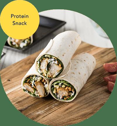 Ernährungsplan Beispiel-Rezept Snack Wrap